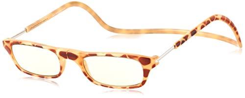 [クリックリーダー] 老眼鏡 CliC Nature SI ブロンドデミ 日本 +2.50 (日本サイズS-M相当)