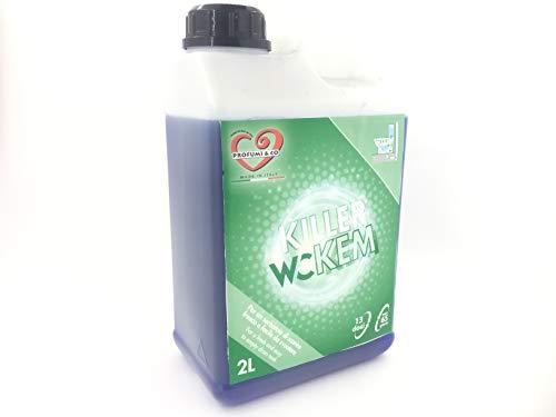 Perfume & Co-Killer WC Kem-Líquido disgregante de sustancia orgánica para inodoros químicos,...