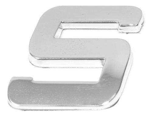 Eufab 30329 3d-letter S Car-logo