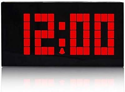 CAODANDE Reloj Digital De Alarma Reloj De Mesa LED Pantalla De Una ...