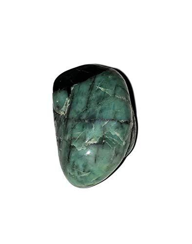 1pc Green Emerald Beryl Large High-Grade Tumbled & Polished Natural Healing Crystal Gemstone Specimen from Brazil