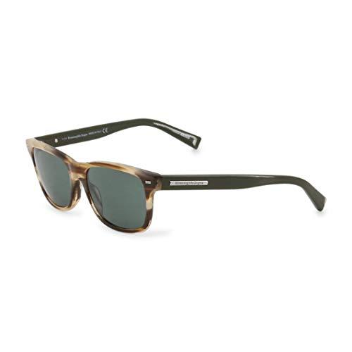 Ermenegildo Zegna Sonnenbrille Ez0001 Gafas de Sol, Marrón (Braun), 56 para Hombre