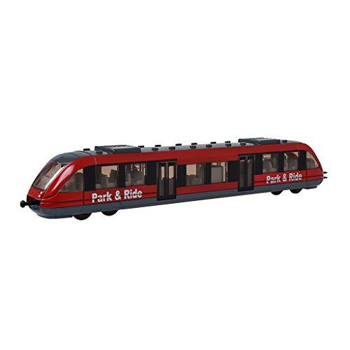Qivor Tren Modelo Juguete Infantil Tren Tren de Alta Velocidad Coche d