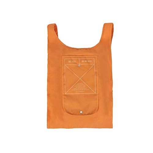XXT Umweltschutz-Beutel-Retro- Nette eine Schulter Tasche Stoff Umweltschutz Tasche (Color : Orange)