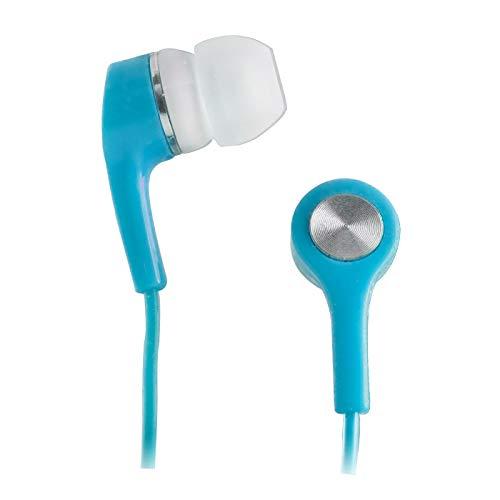 Setty Kopfhörer Praktisch und Modern, Kabellänge: 120 cm, Handy Zubehör, In-Ears-kopfhörer fur Smartphone, Player, Mini Klassische Kopfhoerer (Blau)