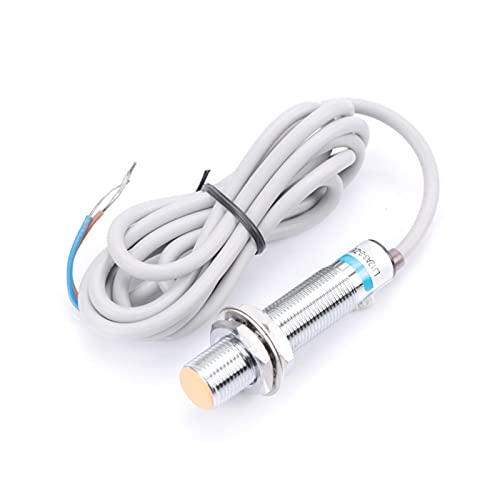FEBT Sensor de proximidad, NPN NC Interruptor de proximidad 2 mm LJ12A3-2-Z/EX Interruptor de Sensor de proximidad inductivo DC 2 Cables Normalmente Cerrado