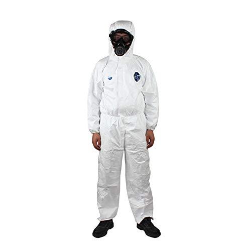 Tuta Monouso Anti-epidemia Antibatterico Tuta Isolante Impedire L'invasione Del Personale Indumenti Protettivi A Prova Di Polvere,S