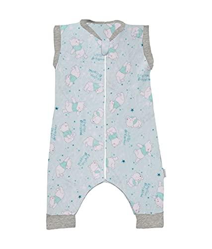 Chiquimundo Baby Sleeping saquito para Dormir Microfibra ultrasuave (Pooh Soñador, 1-2 Años)