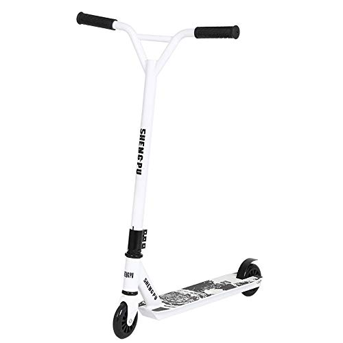 OFAY Pro Scooters Stunt Scooter for Kids 8 Years and Up Perfect for Entry Level Boys and Girls - Best Beginner Trick Scooter for BMX Freestyle Tricks,Blanc