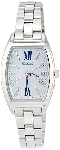 [セイコーウォッチ] 腕時計 ルキア LUKIA(ルキア) ソーラー電波 ダイヤモンド入りダイヤル サファイアガラス プラチナダイヤシールド SSVW165 レディース シルバー