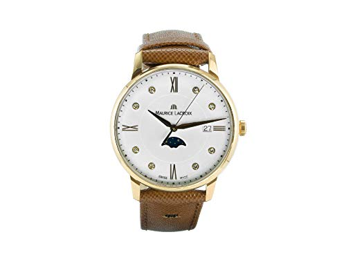 MAURICE LACROIX Schweizer Uhr Eliros Moonphase EL1096-PVP01-150-1