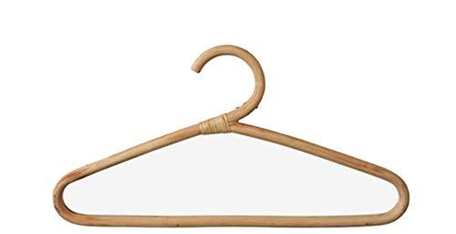 Piore Rotan Kleerhanger Nordic Stijl Kinderkleding Organizer Rack Kinderen Volwassenen Hanger Kinderkamer Decoratie Hangers Voor Kleding, Volwassen-L36xH26cm