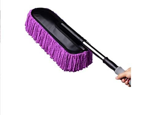 Vadrouille européenne Épaisse voiture lavage vadrouille voiture nettoyage poussière scorpion lave-auto brosse outil de lavage de voiture fournitures de voiture, gris rétractable outils de nettoyage de