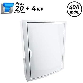 SOLERA 5421 Caja de Distribución, Blanco: Amazon.es: Bricolaje y ...