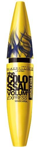 Maybelline New York Mascara Colossal Volum'Express Smoky Eyes mysterious smoky black navy, 10 ml