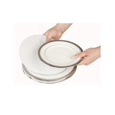 Soft White Felt Plate Dividers 12-10\