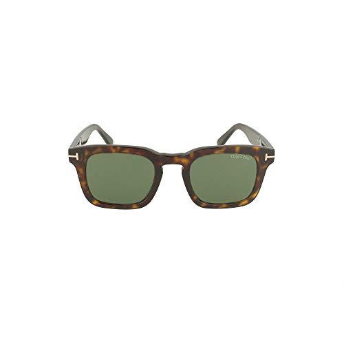 Tom Ford occhiale da sole FT0751 52N Havana verde taglia 48 mm Uomo