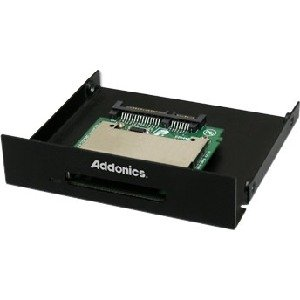 Addonics SATA Cfast Adapter Card Reader Serial ATA (ADSACFASTB)