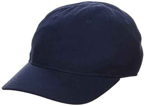 Lacoste Jungen RK3106 Kappe, Blau (Marine), Medium (Herstellergröße: 6/9 A)