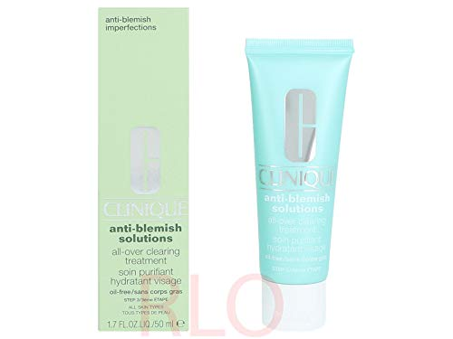 Clinique Anti-Blemish Solutions Soin Purifiant Hydratant Visage Anti-Imperfections 50 ml