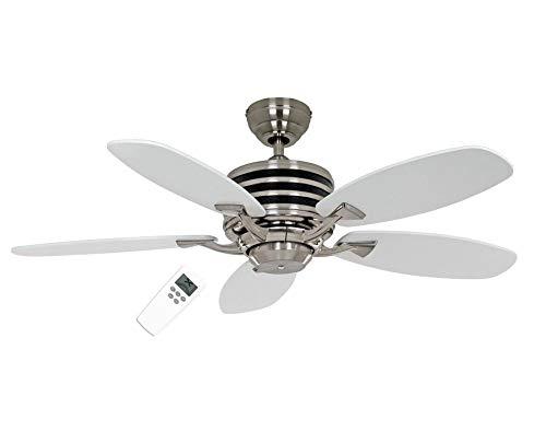 Plafondventilator, ECO GAMMA 103 WE-LG, vleugellak, wit/lichtgrijs