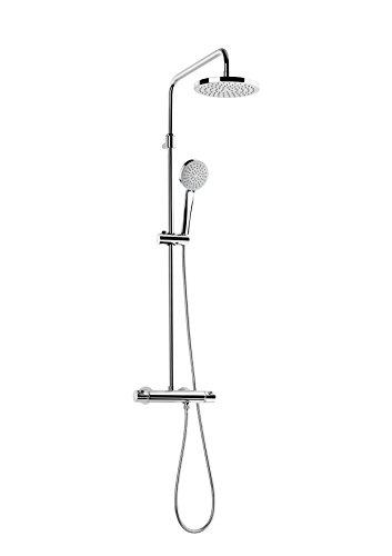 Roca A5A9718C00 Columna de ducha termostática, Cromado