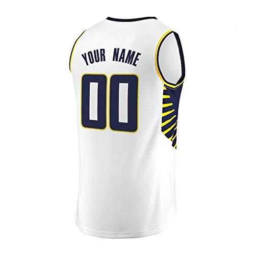 LJF Camiseta de Baloncesto Indiana Nueva Jersey Estación de