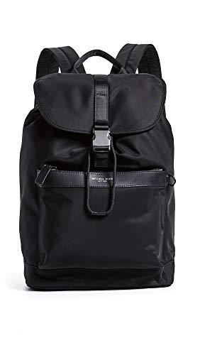 Michael Kors Men's Kent Field Backpack, Black, One Size