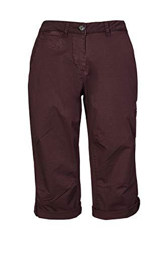 G.I.G.A. DX Lanja, Casual Capri Cargo Pants / 3/4 Pantaloni Donna, Darkaubergine, 40