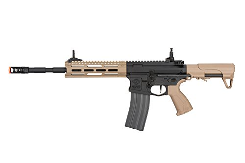 G&G CM16 Raider L 2.0E 6mm AEG Airsoft Rifle w/MOSFET - Black/Tan