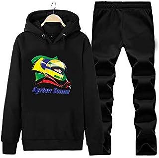 Art T-shirt-Senna Victory Unisex Eşofman Takımı-Siyah-S