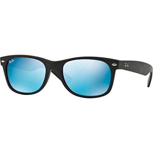 Ray-ban New Wayfarer, Montures de lunettes mixte adulte, Black Flash (Black Flash), 52 mm