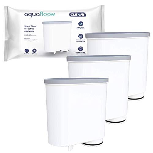 Aquafloow Wasserfilter kompatibel mit Philips AquaClean CA6903/10 CA6903/22 CA6903 Kalkfilter, Aqua Clean Filterpatrone für Philips Kaffeevollautomaten, 3er Pack