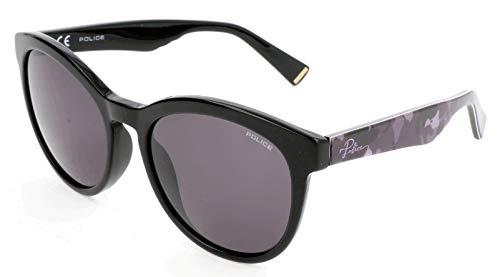 POLICE SPL409 Police Sonnenbrille SPL409 Schmetterling Sonnenbrille 54, Schwarz