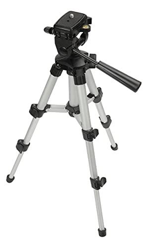 PREXISO Lightweight Extendable Tripod with Adjustable Legs & Tilting...