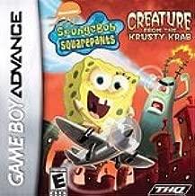 Spongebob Squarepants: Creature From The Krusty Krab (nintendo Game Boy Advance, 2006) Used