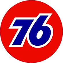 Union 76 Gasoline Decal is 5