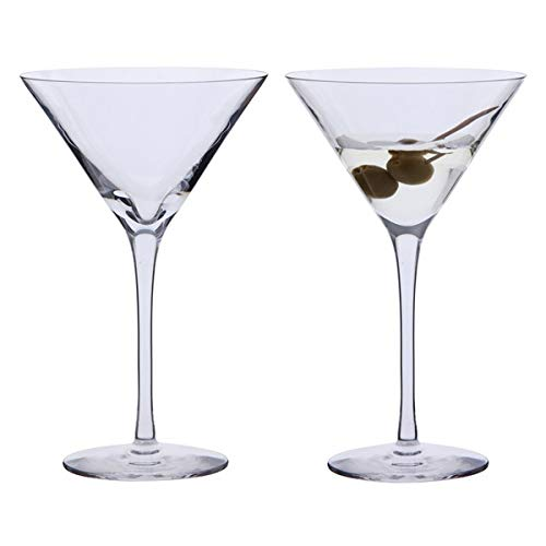 Dartington Crystal Bar Excellence Martini Glasses