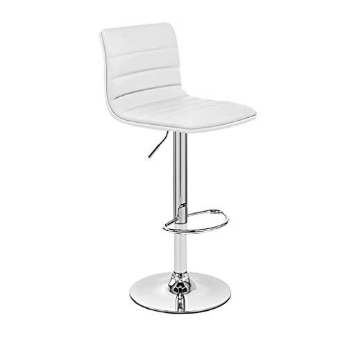 Sgabelli da Bar Sedia Ascensore, seggiolone, Sedia Imbottita, mobili da Bar (Color : White)