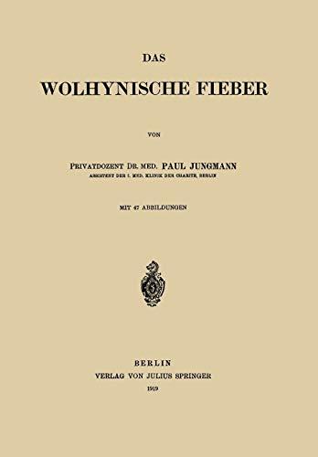 Das Wolhynische Fieber (German Edition)