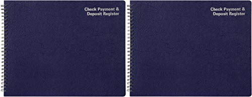 Adams Check Payment and Deposit Register, 8-1/2