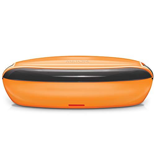 Milton Swiftron Stainless Steel Tiffin Box Set of 2, 260ml, Orange