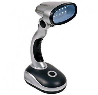 Eaxus Lampe de table avec 12 LED – Angle lumière réglable