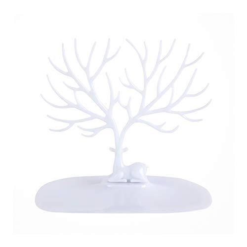 Supporto per gioielli, collana, bracciale, supporto per orecchini, espositore per albero di corno di foresta può essere appeso per organizzare o mostrare gioielli, regalo ideale