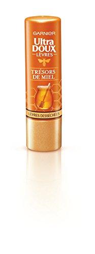Garnier Ultra Doux Baume à Lèvres Nourrissant Lèvres desséchées Trésors de Miel