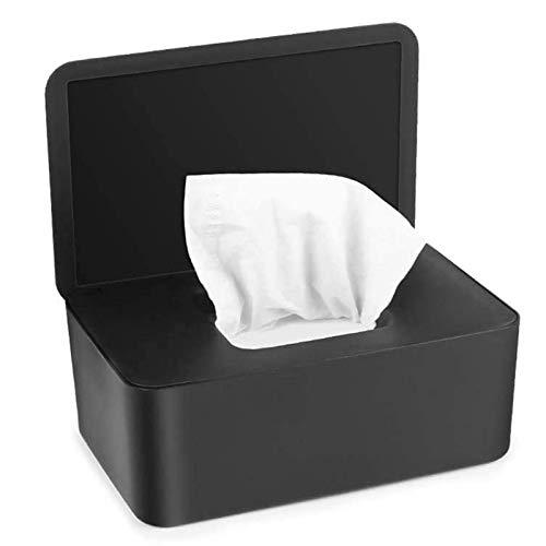 LIDABAO Funda protectora de papel seco para pañuelos con tapa para el hogar