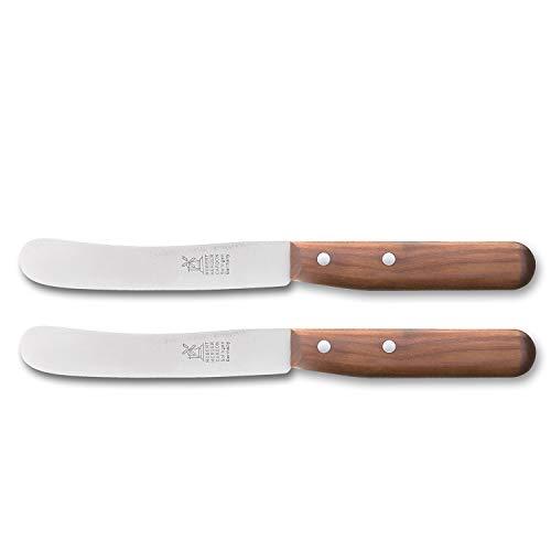 Windmühlenmesser Buckels Messer Set 2-teilig Klingen 11,8cm Carbon Kirsche Tafel- & Frühstücksmesser 8218