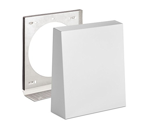 weiß Innenblende Schallschutz Farbe für Lunos e2 und e2neo