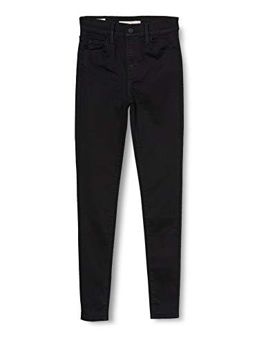 Levi's Damen 720 Hirise Super Skinny Jeans, Black Galaxy, 30W / 30L
