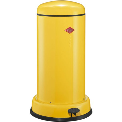 WESCO 135 531-19 Baseboy Abfallsammler 20 Liter, Lemon Yellow